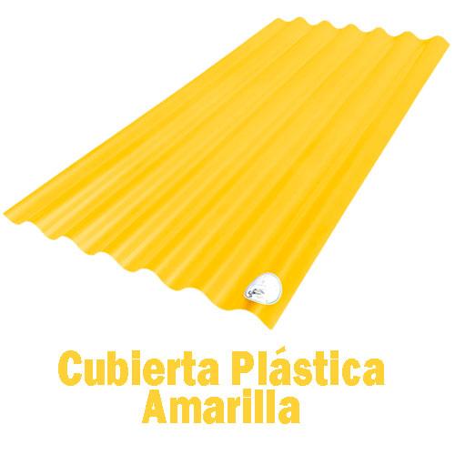 Teja Plástica Amarilla