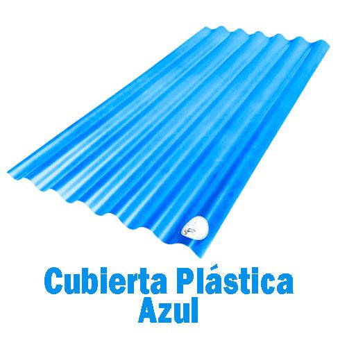 Teja Plástica Azul