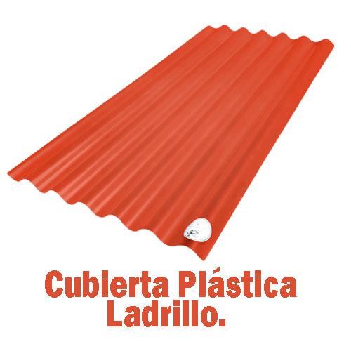 Teja Plástica Ladrillo