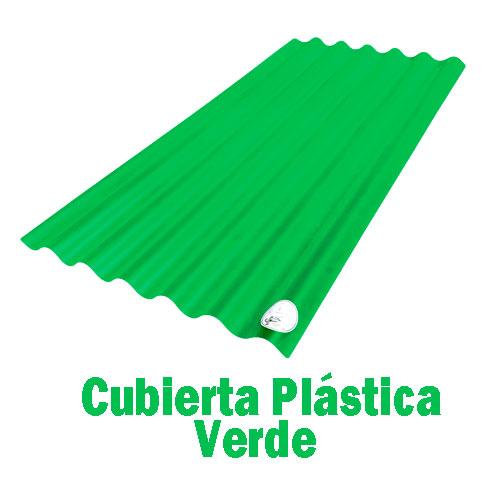 Teja Plástica Verde